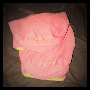 """Two """"Swaddle Me,"""" babygirl's blanket/wrap"""